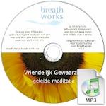 MP3 voor download - begeleide meditatie - vriendelijk gewaarzijn